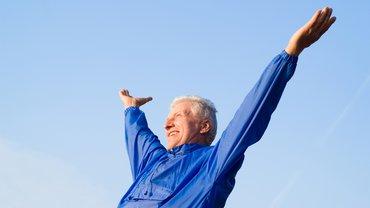 Rentner Altersteilzeit Freizeit Rente Mann aktiv Sport